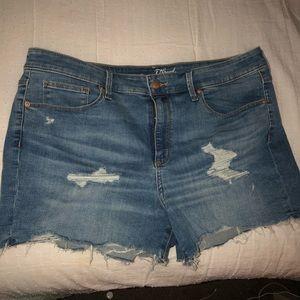Universal Thread cut-off denim shorts